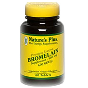 Natures Plus Bromelain 500 mg Tablets
