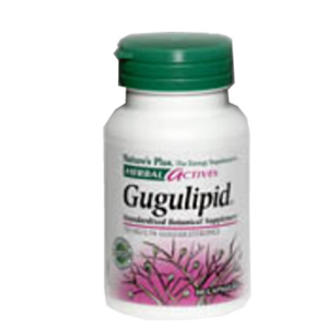 Natures Plus Herbal Actives Gugulipid 750 mg Vcaps