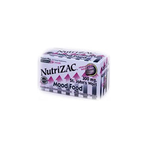 Natures Plus Herbal Actives NutriZAC Tablets - Mood Food