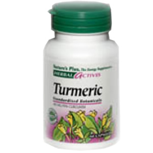 Natures Plus Herbal Actives Turmeric 400 mg Vcaps