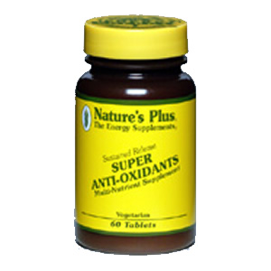 Natures Plus Super Anti-Oxidant Complex Sustained Release Tablets