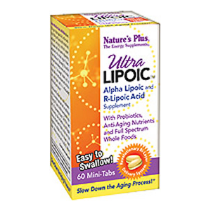Natures Plus Ultra Lipoic BiLayered MiniTabs 60 Tabs