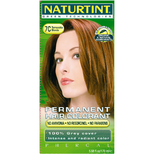 Naturtint Permanent Hair Colorant - 7C Terracotta Blonde