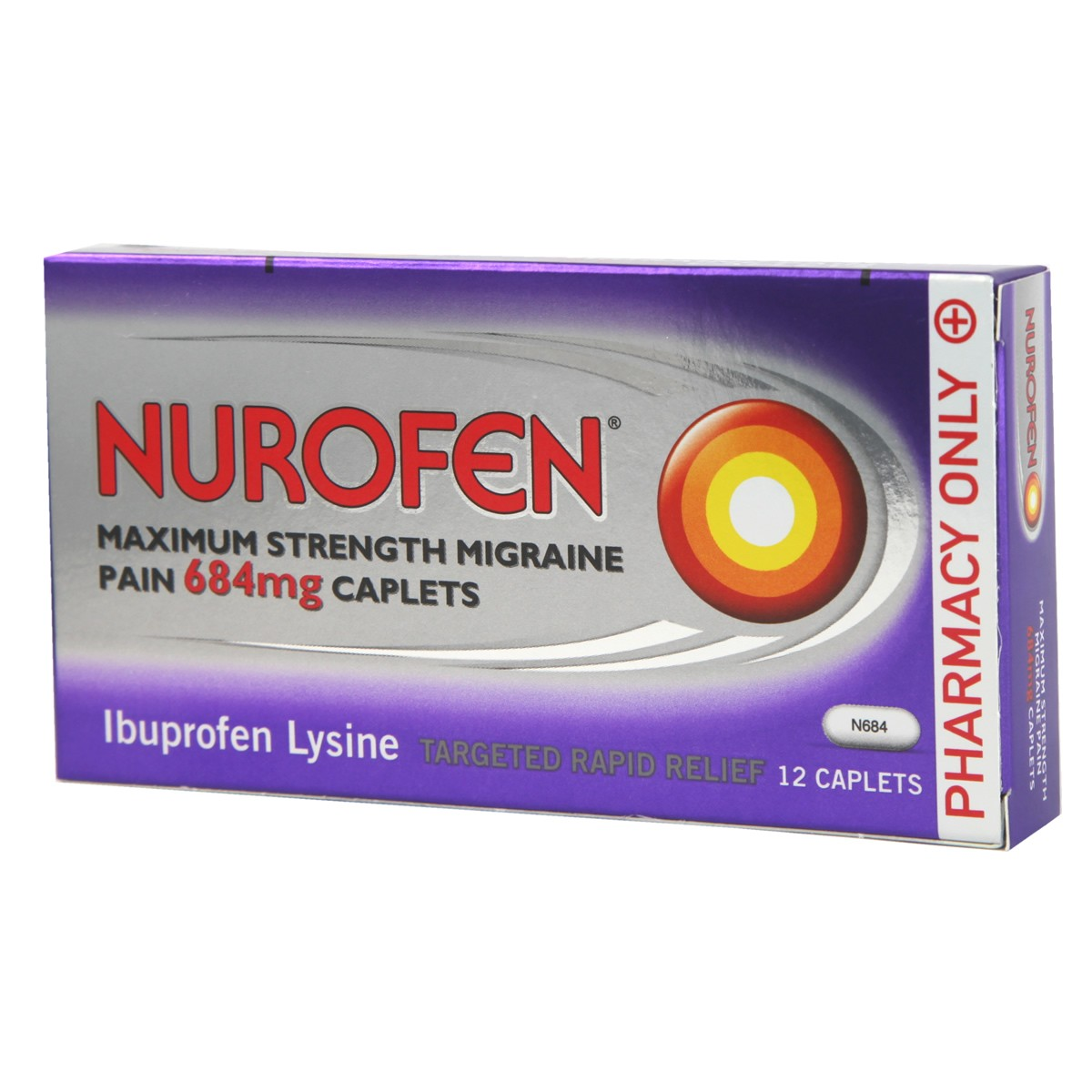 Nurofen Maximum Strength Migraine Pain - 684mg