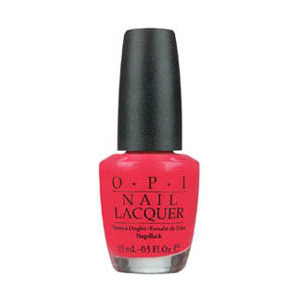 OPI Charged Up Cherry Nail Lacquer