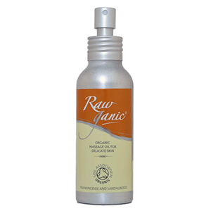 Rawganic Massage Oil for Delicate Skin
