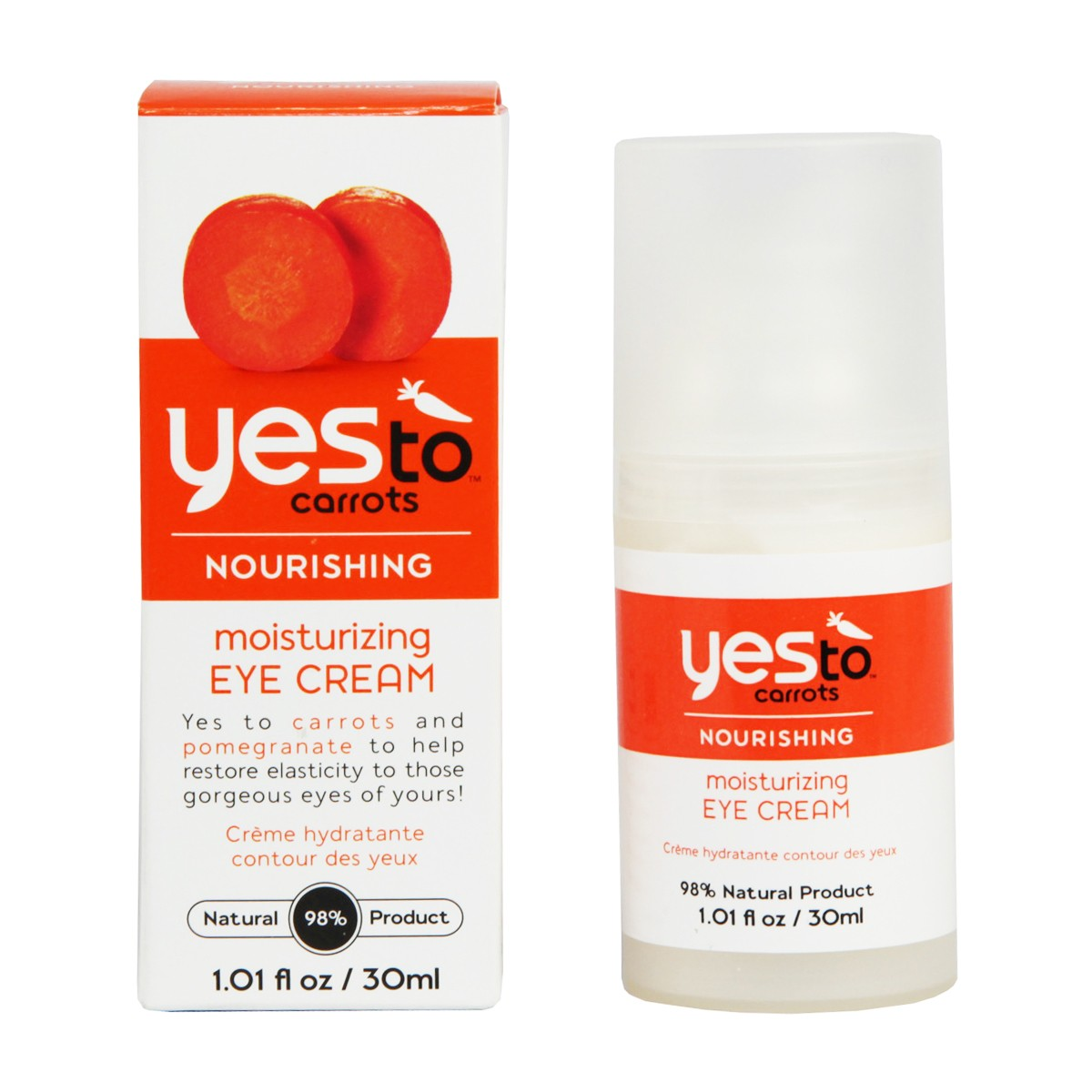 Yes To Carrots Nourishing Mosturizing Eye Cream