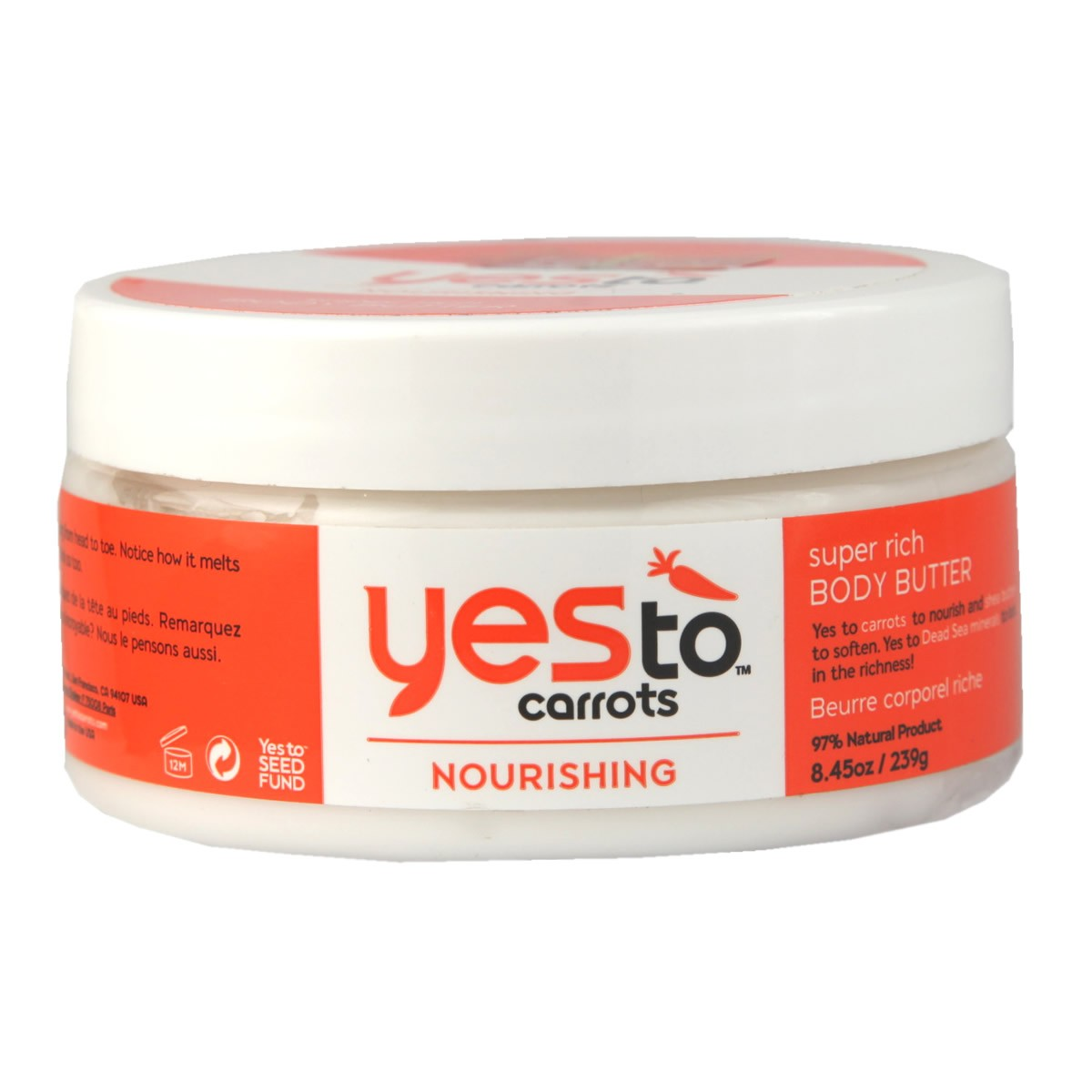Yes To Carrots Nourishing Super Rich Body Butter