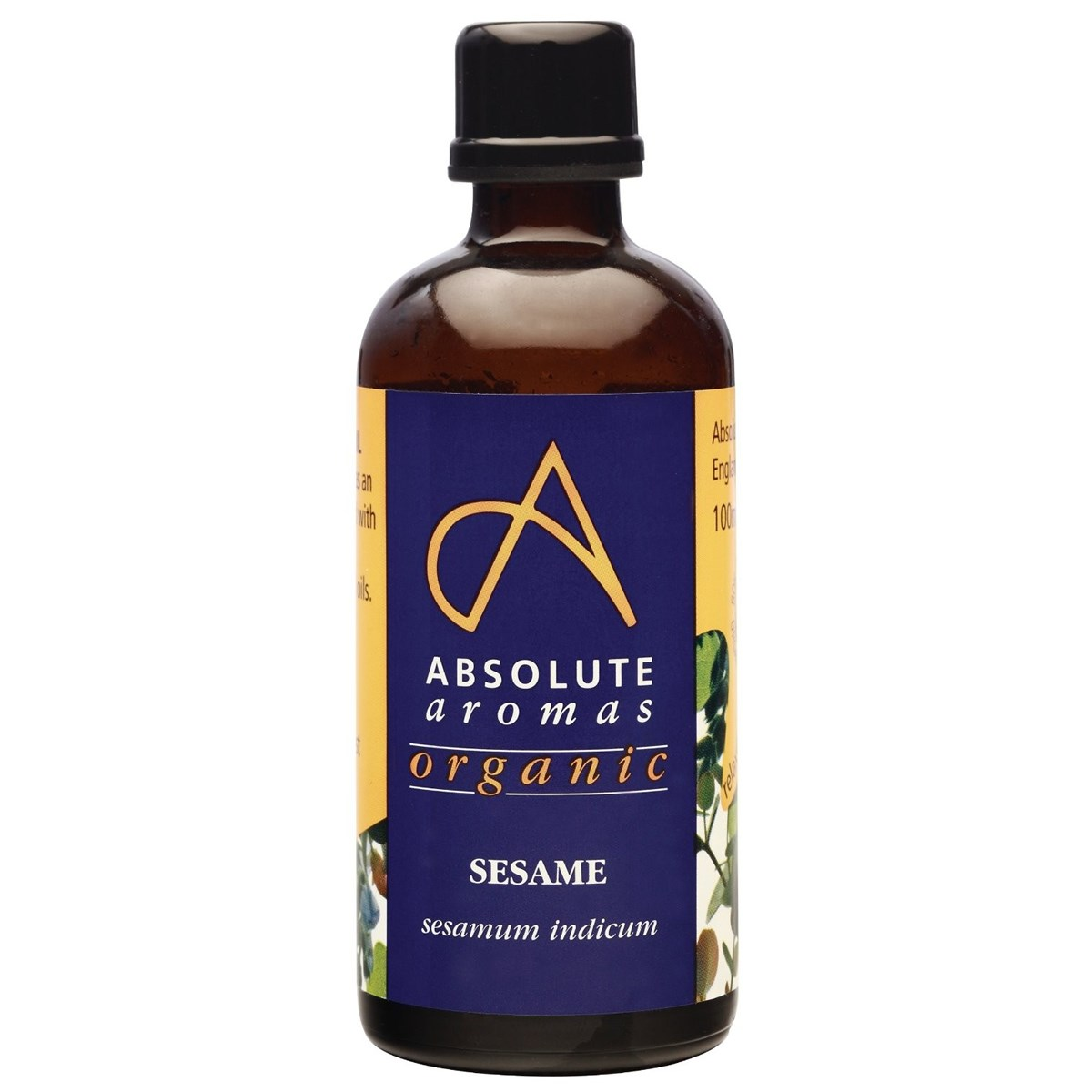 Absolute Aromas Organic Sesame Oil