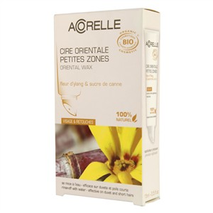 Acorelle Skin Care Oriental Wax with Strips (delicate areas) - Ylang Flower & Cane Sugar