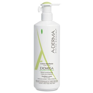 Aderma Exomega Face & Body Emollient Cream - Pump