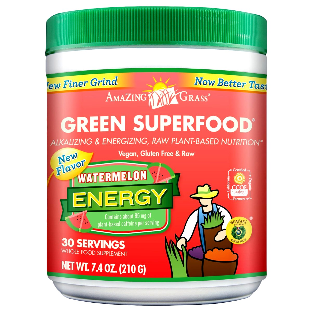 Amazing Grass Green Superfood Watermelon Energy Infusion
