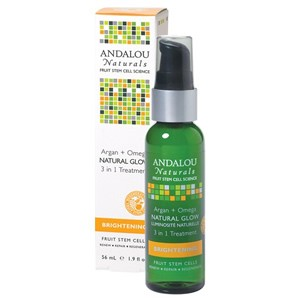 Andalou Naturals Brightening Argan + Omega Natural Glow 3 in 1 Treatment