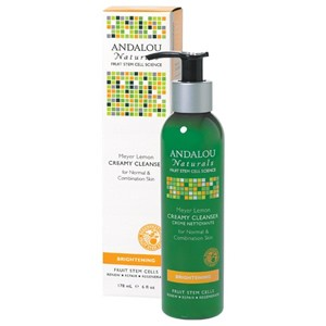 Andalou Naturals Brightening Meyer Lemon Creamy Cleanser