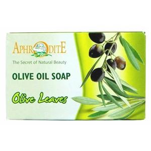 Aphrodite Olive Oil Soap with Olive Leaves