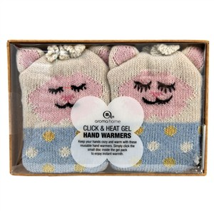 Aroma Home Click & Heat Gel Hand Warmers - Lamb