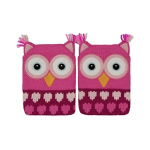 Aroma Home Click & Heat Gel Hand Warmers - Pink Owl