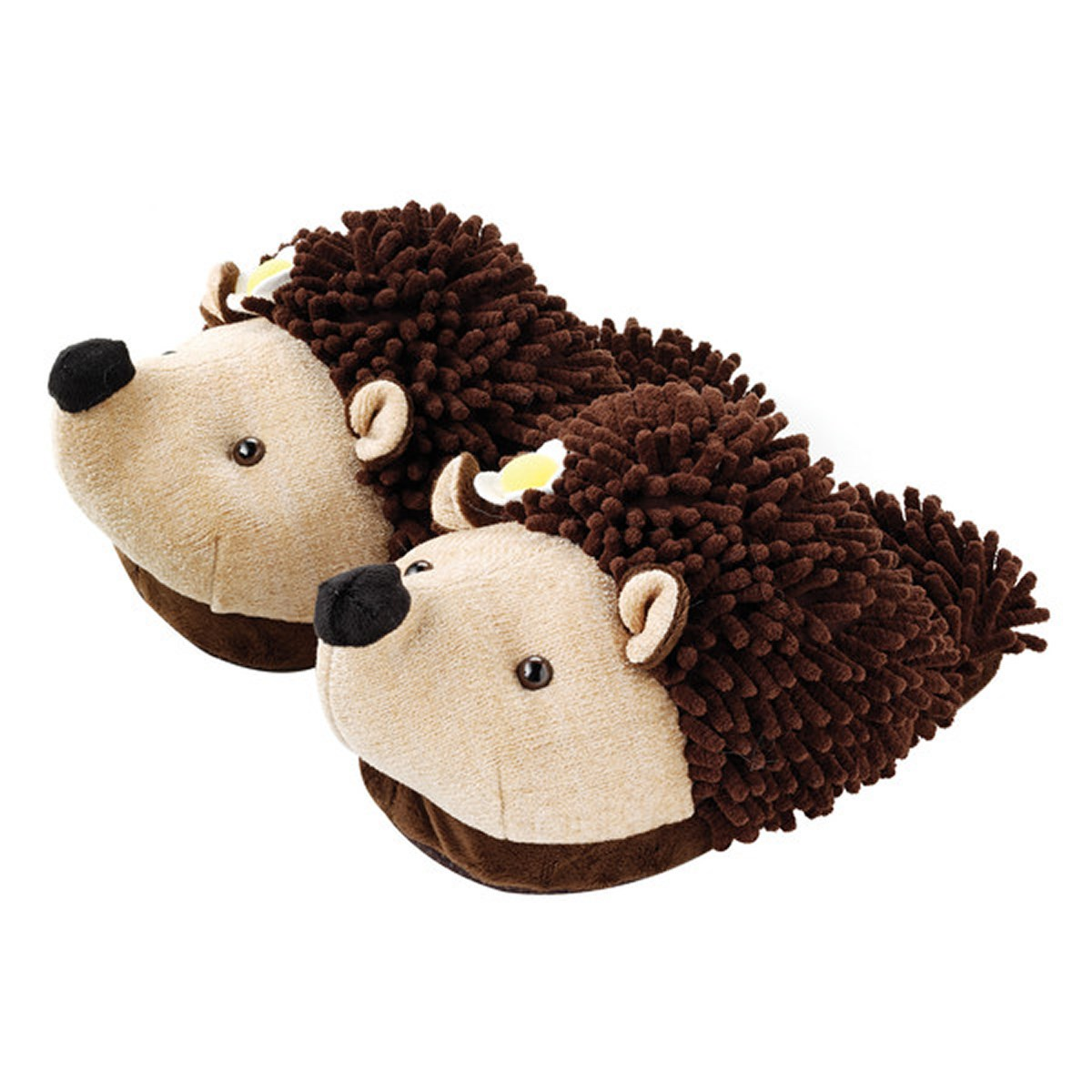 Aroma Home Fun For Feet Fuzzy Slippers - Hedgehog