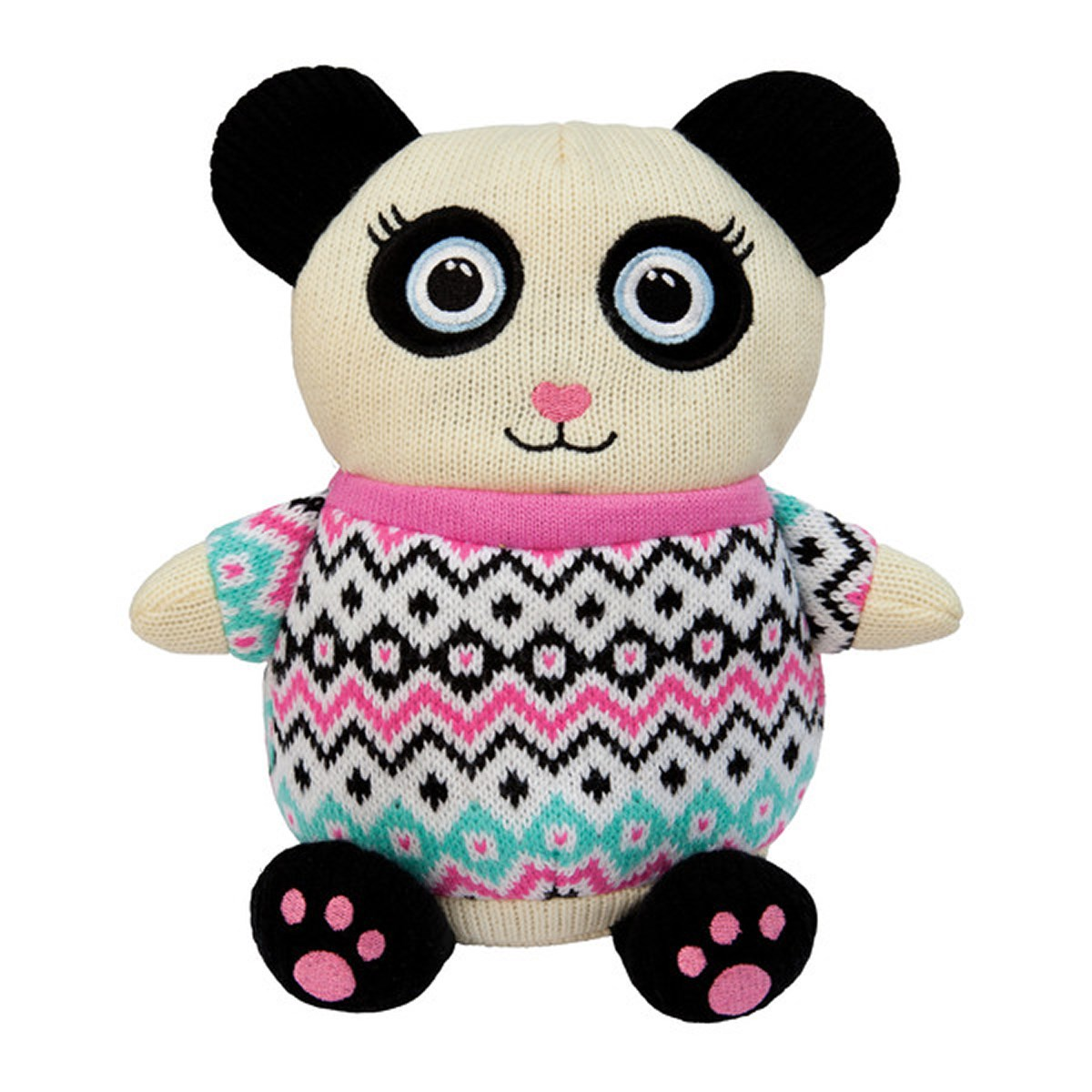 Aroma Home Knitted Cosy Friend Hottie - Panda