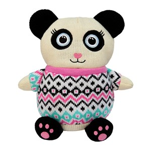 Aroma Home Knitted Cosy Friend Hottie  Panda