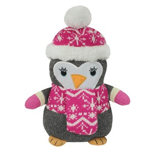 Aroma Home Knitted Cosy Friend Hottie  Penguin