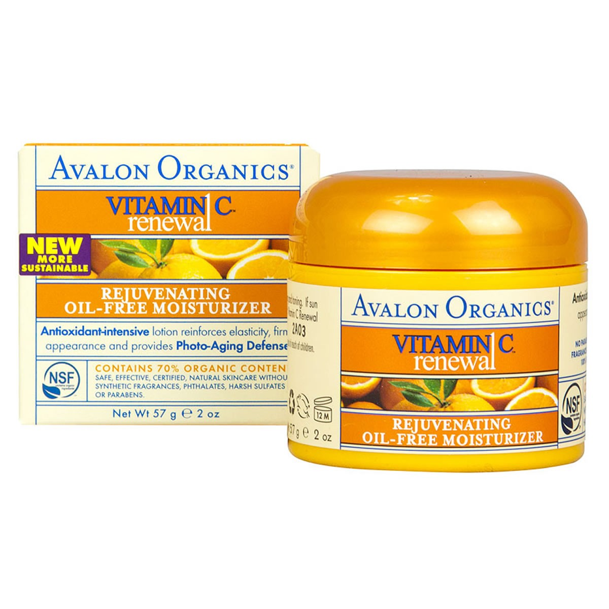 Avalon Organics Vitamin C Rejuvenating Oil-Free Moisturiser