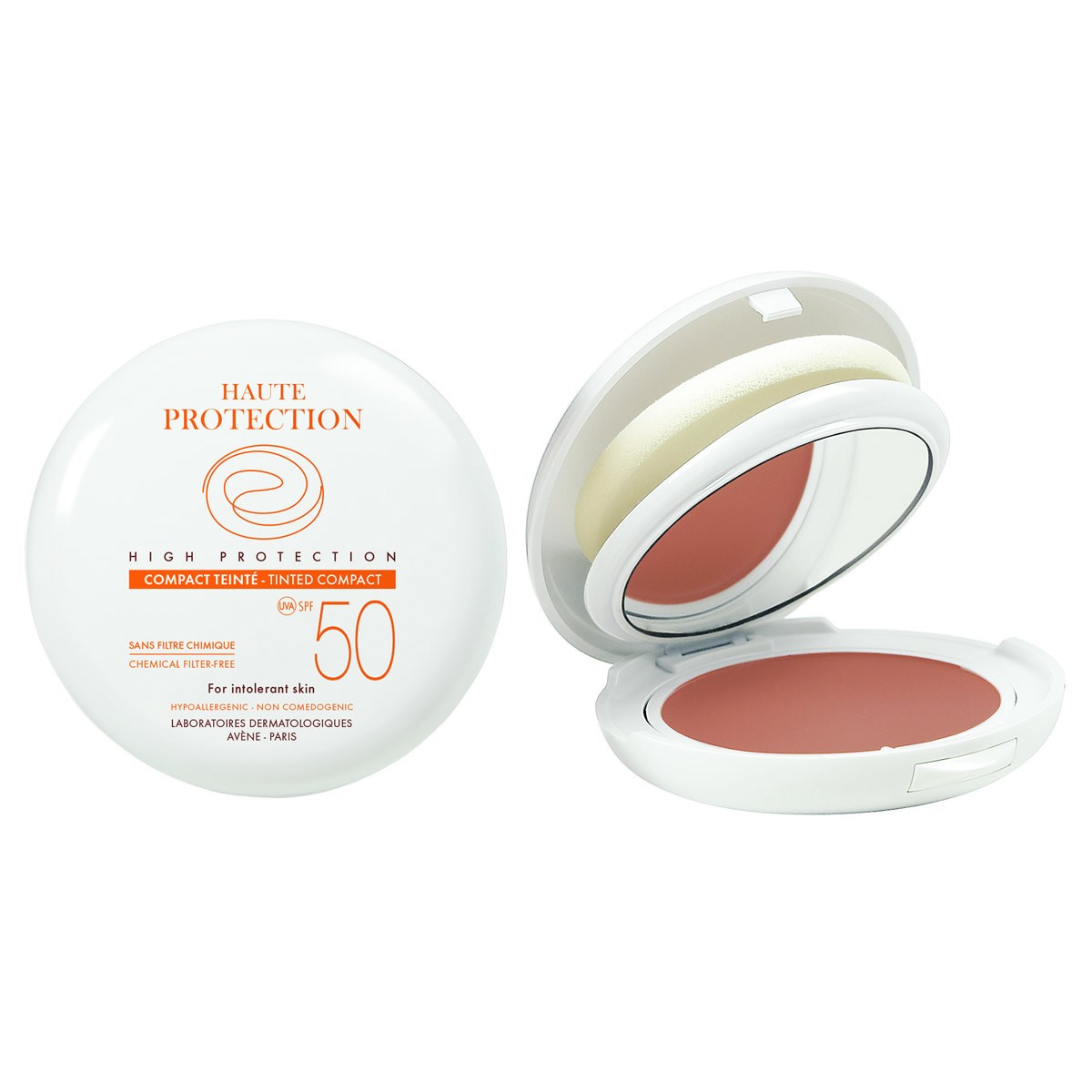 Avene High Protection SPF 50 Honey Compact 10g