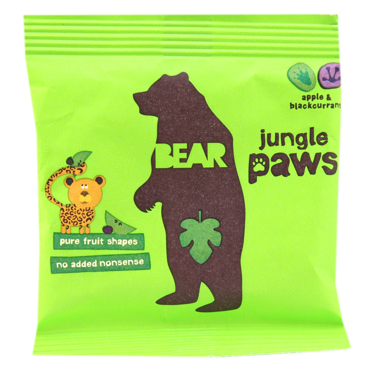 Bear Jungle Paws - Apple & Blackcurrant