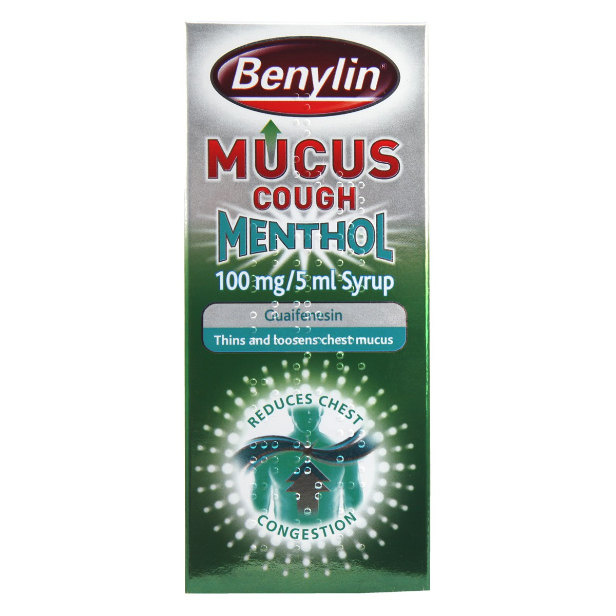 Benylin Mucus Cough Menthol 100mg/5ml Syrup