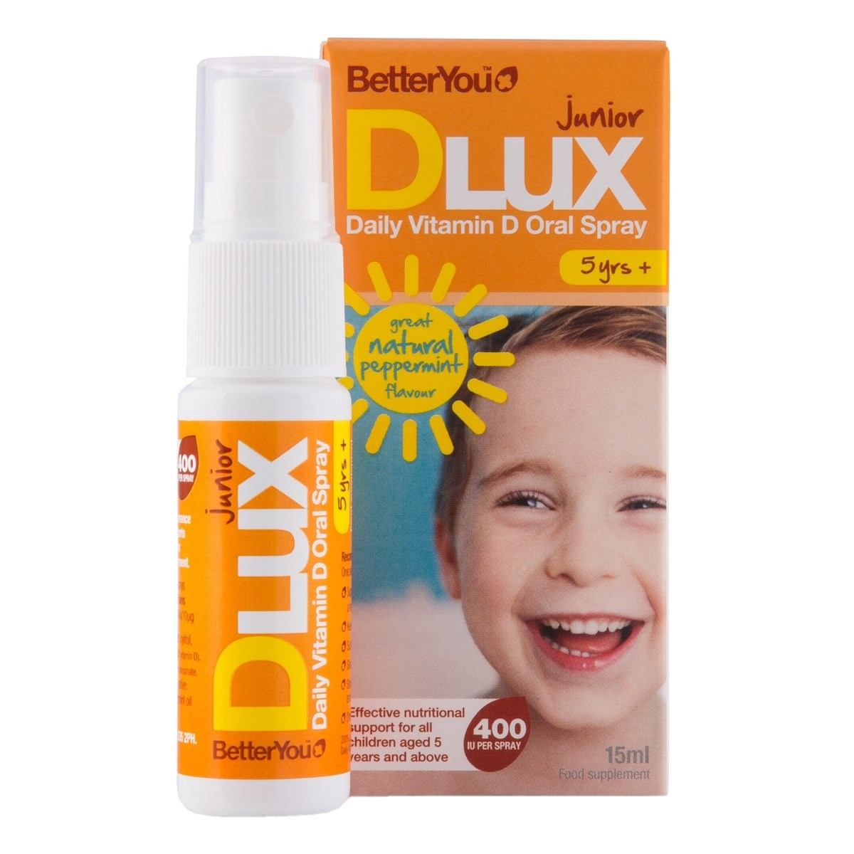 Better You Junior DLux Vitamin D Oral Spray