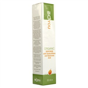 Bio2You Organic Skin Mask with Seabuckthorn and Hyaluronic Acid