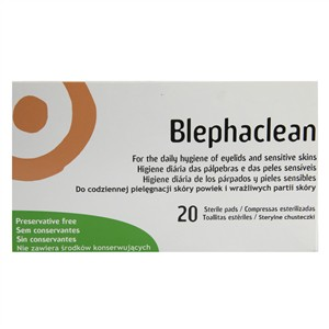 Blephaclean for the Daily Hygiene of Eyelids and Sensitive Skins