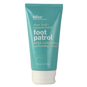 Bliss Foot Patrol AHA Exfoliating &amp Softening Cream 75ml