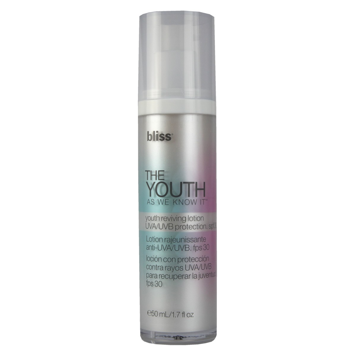 Bliss THE	YOUTH AS WE KNOW IT Anti-Aging Moisture Lotion spf 30