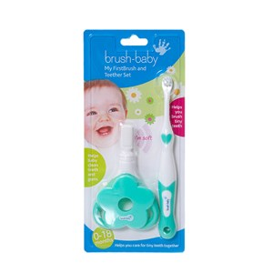 Brush-Baby My First Brush and Teether Set