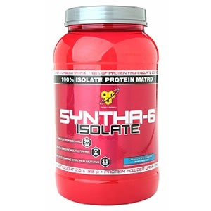 BSN Syntha 6 Isolate - Strawberry 912g