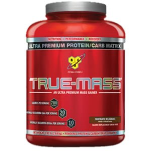 BSN True Mass Strawberry Milkshake 2640g