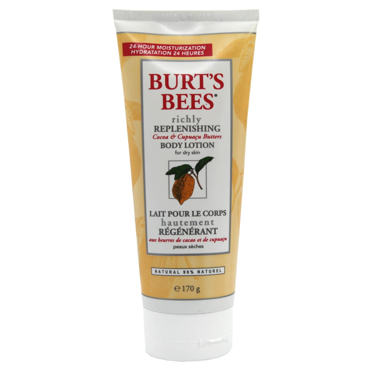 Burt`s Bees Richly Replenishing Cocoa Body Lotion