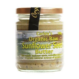 Carley's Organic Raw Sunflower Seed Butter