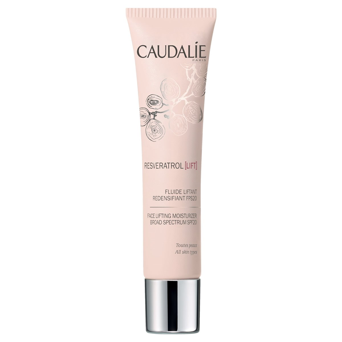 Caudalie Resveratrol Lift Face Lifting Moisturiser Board Spectrum SPF 20