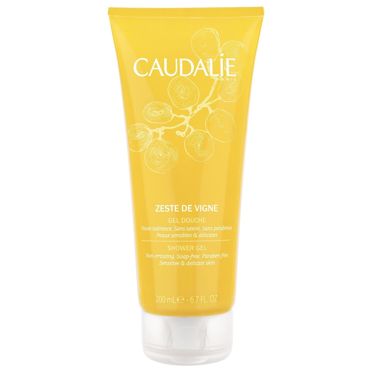 Caudalie Zeste De Vigne Shower Gel