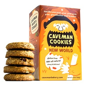 Caveman New World Cookies