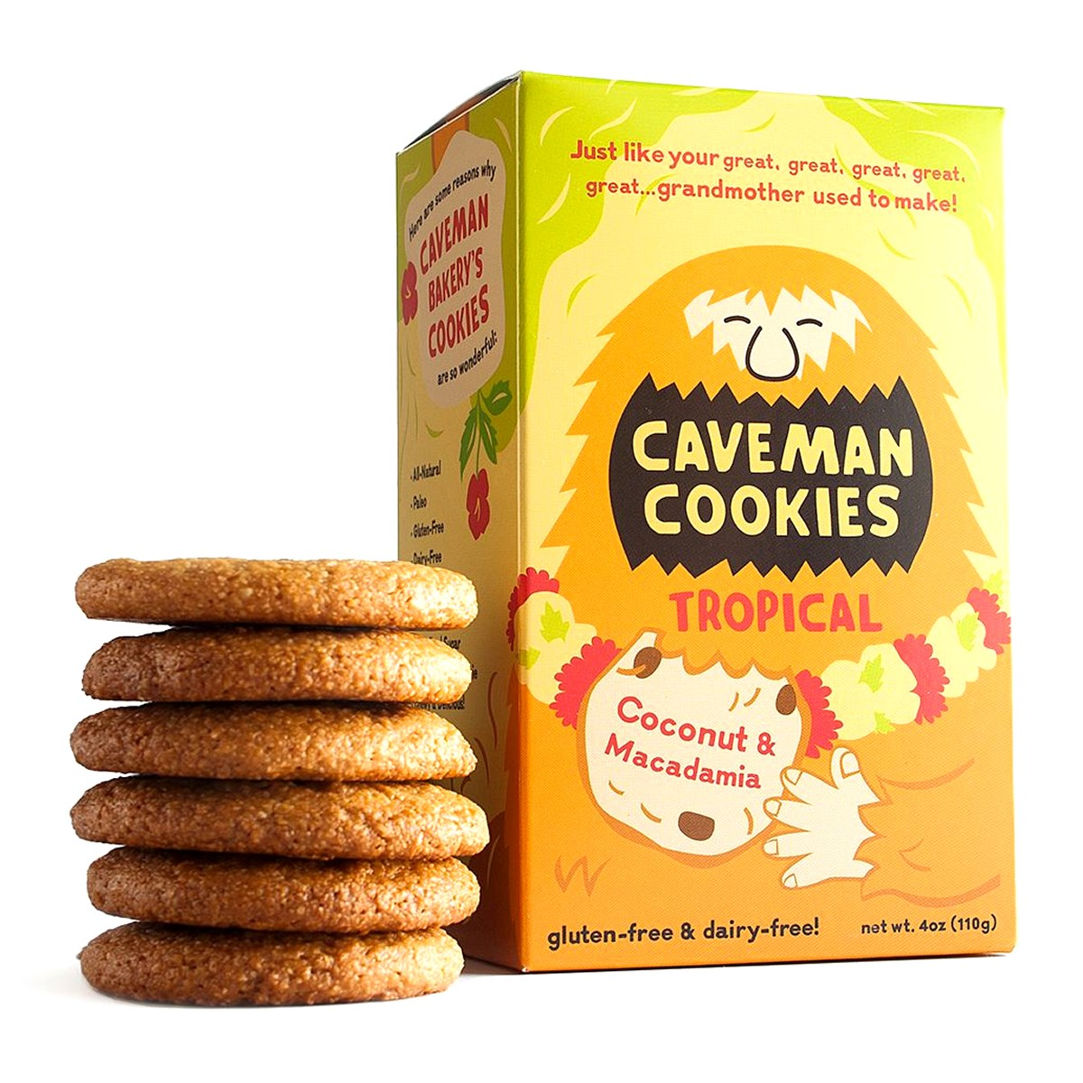 Caveman Tropical Cookies