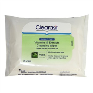 Clearasil Daily Clear Vitamins & Extracts Cleansing Wipes