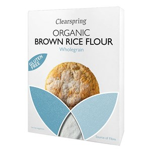 Clearspring Organic Gluten Free Brown Rice Flour