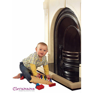 Clevamama Fireplace Edge Guard - Beige