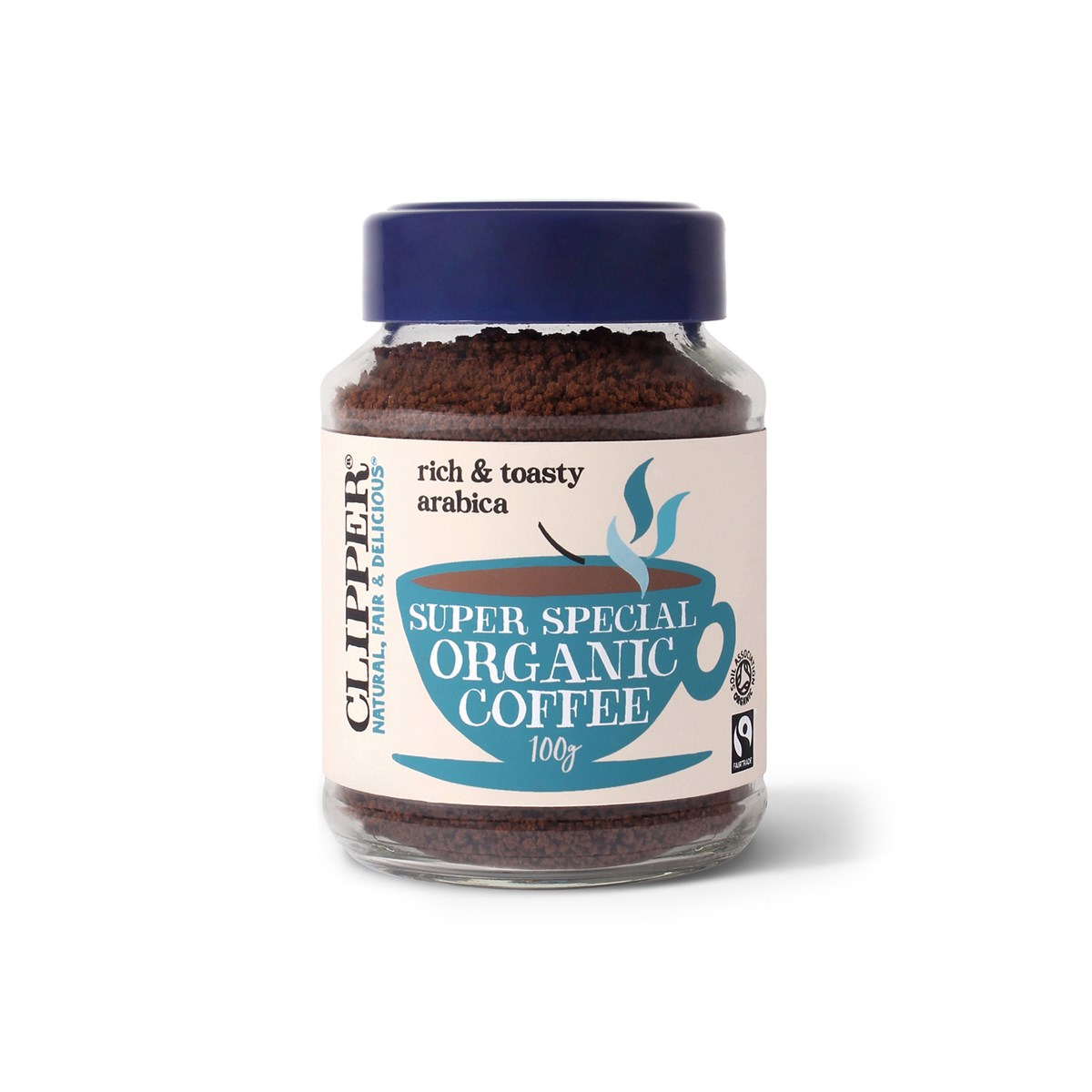 Clipper Fairtrade Arabica Organic Instant Coffee