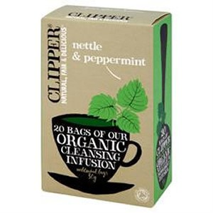 Clipper Organic Cleansing Infusion - Nettle & Peppermint