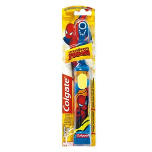 Colgate Extra Soft Battery Toothbrush - Spiderman