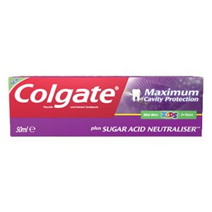 Colgate Maximum Cavity Protection Kids 3+ Years Toothpaste